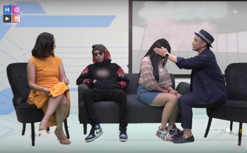 DJ Bebby Fey dan pria mirip Atta Halilintar