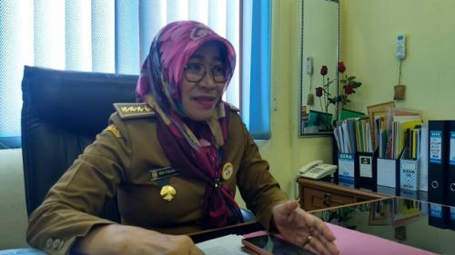 Kabid Dikdas Disdik Kota Bekasi Sri Yulinarti. (Foto: Wijayakusuma/Okezone)