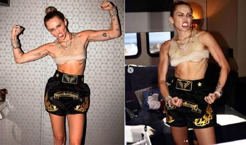 Miley kerempeng