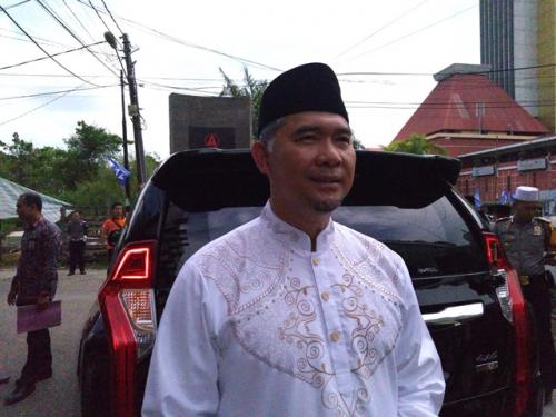 Wali Kota Jambi Syarif Fasha. (Foto: Azhari Sultan/Okezone)