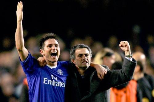 Lampard dan Mourinho
