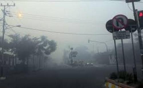 Kabut asap. (Foto: Okezone)