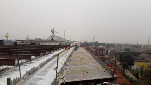 Jalan Tol Cikampek II (Foto: Okezone.com/Taufik Fajar)