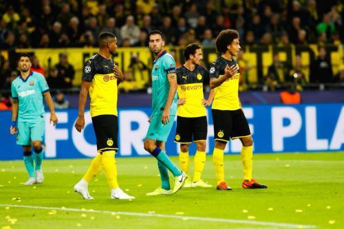 Barcelona vs Dortmund tanpa gol di babak pertama
