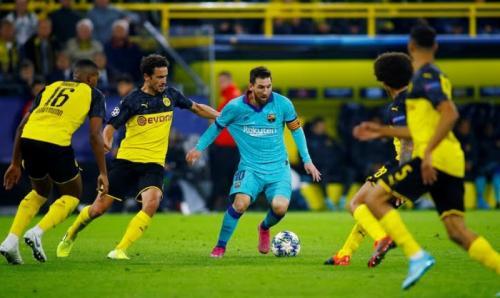 Borussia Dortmund berhasil meredam Barcelona (Foto: Reuters)