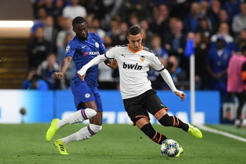 Chelsea vs Valencia di Liga Champions