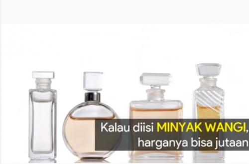 Cuplikan video dari insipirasi botol (Foto: Okezone.com/ Instagram @tungdesemwaringin.tdw