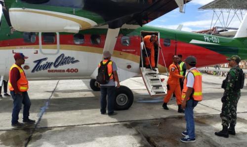 Tim SAR gabungan kembali cari pesawat Twin Otter yang hilang di Papua/Foto: Saldi