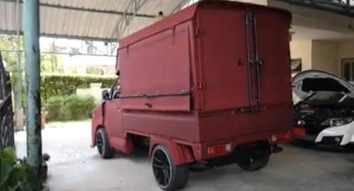 Modifikasi Suzuki Pikap