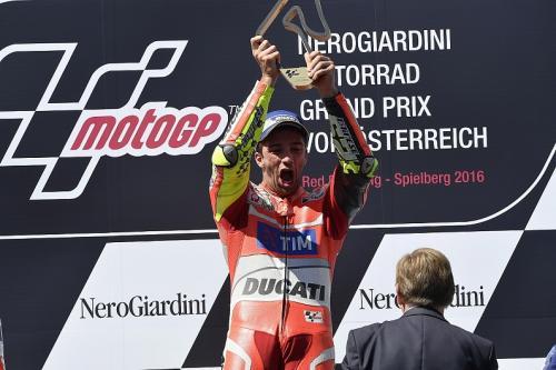 Andrea Iannone saat masih membela Tim Ducati