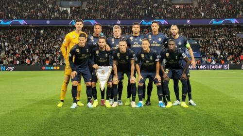 Starting XI Real Madrid vs PSG