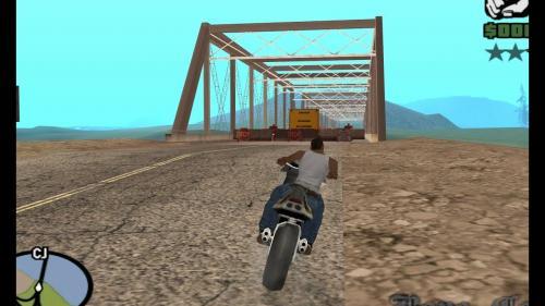 Game GTA: San Andreas adalah salah satu game yang dapat diunduh secara gratis melalui Game Launcher.