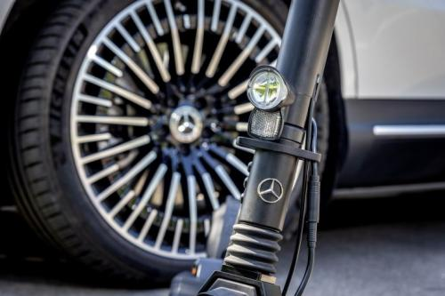 Mercedes Benz electrik scooter