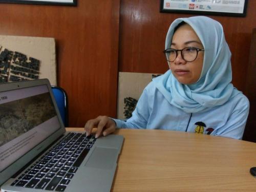 Pengamat UNS Dr. Eng Kusumaningdyah Jelaskan Kota Tua di Solo yang Tersebar di Beberapa Titik (foto: Okezone/Bramantyo)