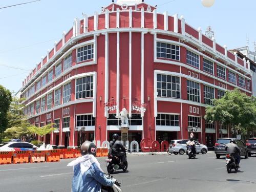 Gedung Siola, Salah Satu Bangunan Tertua di Kota Surabaya, Jawa Timur (foto: Okezone/Syaiful Islam)