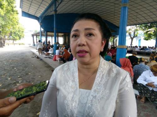 GKR Wandansari Koes Moertiyah atau Gusti Moeng Terangkan Kota Tua di Solo Tersebar di Beberapa Titik (foto: Okezone/Bramantyo)