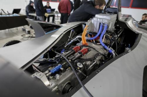 Motor listrik Formula E