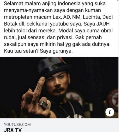 Jerinx Sid Ogah Disamakan Dengan Sejumlah Artis Indonesia Okezone Celebrity