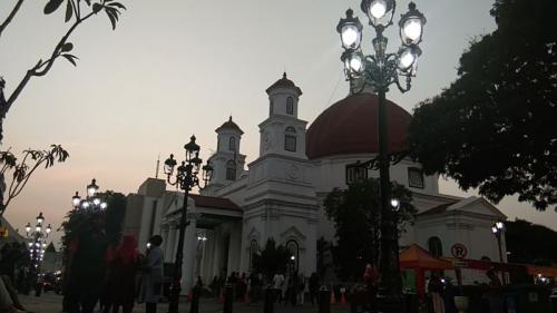 Menapaki Kota Lama yang Berjuluk 'Little Netherland', Kawasan Kota Tuanya Semarang, Jawa Tengah (foto: Okezone/Taufik Budi)