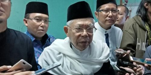 Ketua MUI KH Ma'ruf Amin. (Foto: Okezone)