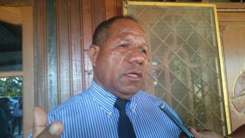 Mantan Ketua Gereja Sinode Papua Pendeta Alberth Yoku. (Foto : Okezone.com/Edy Siswanto)