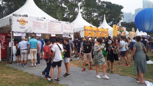 F1 GP Singapura 2019. Foto: Okezone/Ramdani Bur