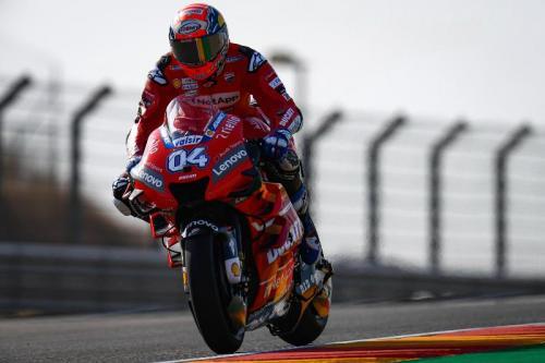 Andrea Dovizioso tak lagi pikirkan jarak poin dengan Marquez