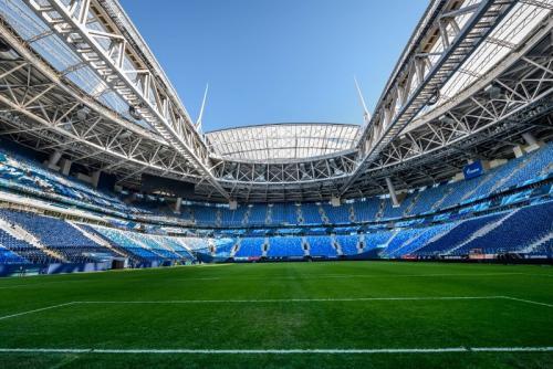 Gazprom Arena menjadi salah satu venue yang dipertimbangkan Khabib
