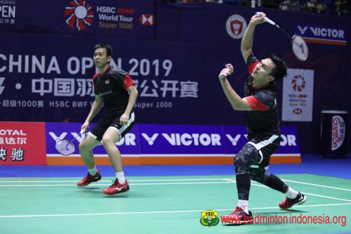 Hendra/Ahsan runner-up China Open 2019