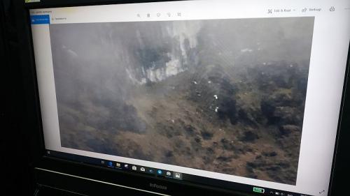 Tim SAR temukan lokasi pesawat yang hilang kontak di Papua (Foto : Okezone.com/Saldi)