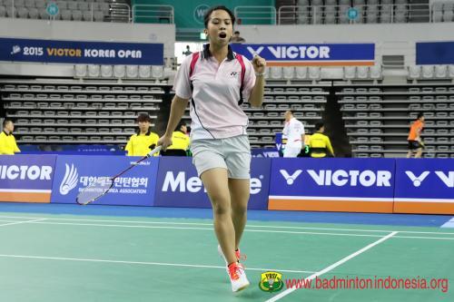 Lyanny Mainaky kandas di babak kualifikasi Malaysia Masters 2020