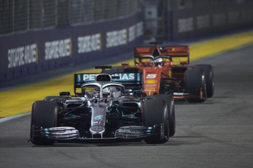 Lewis Hamilton tempati urutan kedua di sesi latihan bebas 1 F1 Jepang 2019