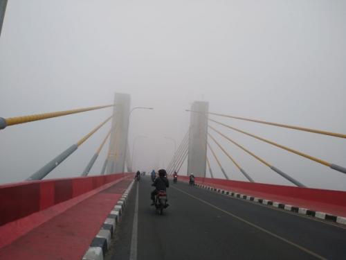 Kabut Asap Akibat Karhutla (foto: Ist)