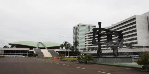 Kompleks Parlemen Senayan. (Foto: Okezone)