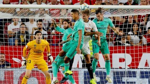 Laga Sevilla vs Real Madrid