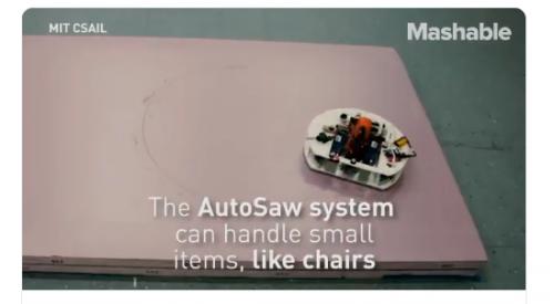 Robot Tukang Kayu