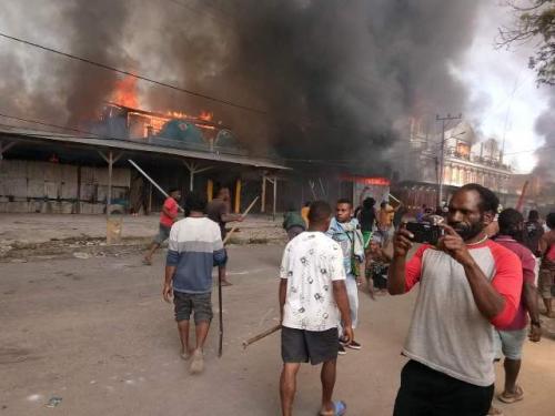 Demo di Wamena
