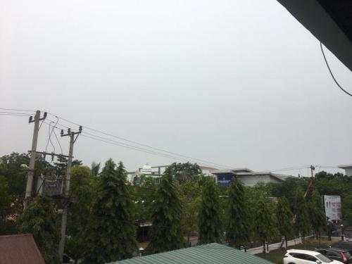 Kondisi Kabut Asap di Banda Aceh (foto: Okezone/Windy P)