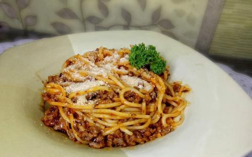 Spaghetti enak