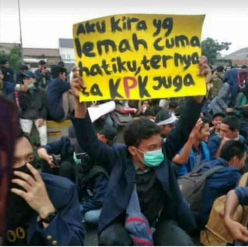 Viral Demo Mahasiswa