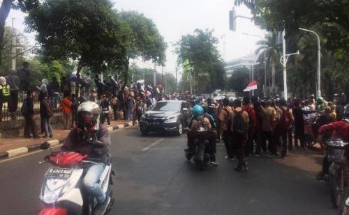 Demo pelajar