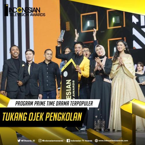 Ojek Pengkolan Raih ITA Awards 2019