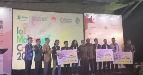 IoT Makers Creation 2019 telah digelar dan menetapkan tiga pemenang.
