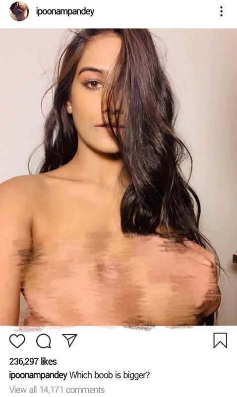 Poonam Pandey tak sungkan memamerkan tubuh moleknya di media sosial. (Foto: Instagram/@ipoonampandey)