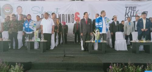 Pembukaan Kejuaran Nasional Taekwondo (Foto: Istimewa)