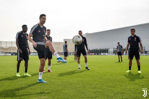 Ronaldo di sesi latihan Juventus