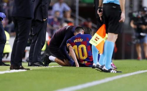Lionel Messi dipastikasn absen di laga Barcelona selanjutnya