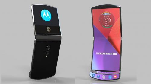 Motorola kabarnya akan merilis ponsel Razr terbaru dengan fitur lipat.