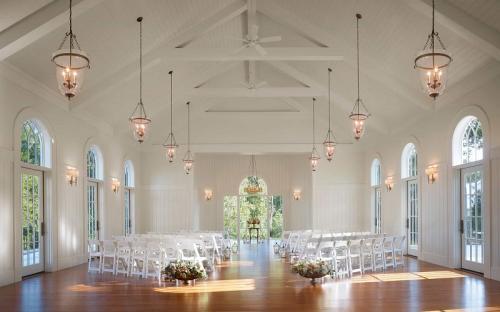 Kapel tempat di mana Justin Bieber dan Hailey Baldwin menjalani pemberkatan nikah. (Foto: Montage Hotels)