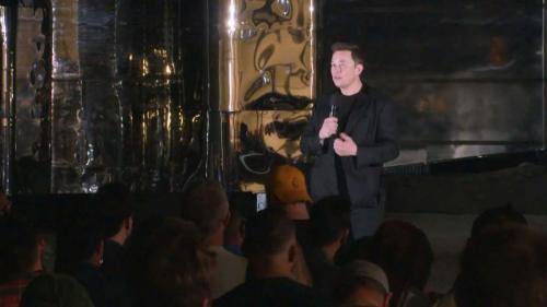 Elon Musk baru-baru ini mengumumkan tentang pesawat luar angkasa terbarunya.